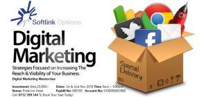 Digital Marketing Masterclass @ Softlink Options Limited Offices, Westlands | Nairobi | Nairobi County | Kenya